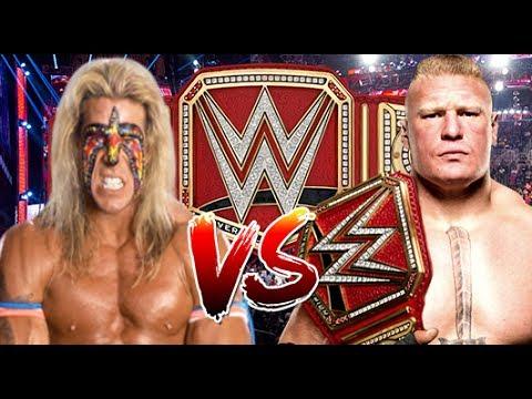WWE RAW 2K17 Ultimate Warrior vs Brock Lesnar WWE Universal Championship Match