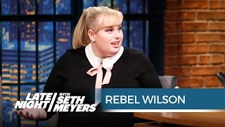 Rebel Wilson on Her Awkward First Head Shot - Late Night with Seth Meyers