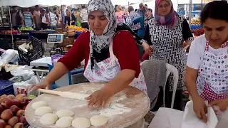 Турция. Лепешки Гёзлеме