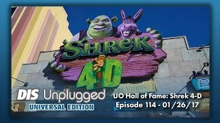 Universal Hall of Fame Shrek 4-D | Universal Edition | 01/26/17