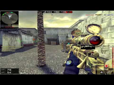BlackShot SEA IXIYunsuke xkRYSTALIZED AK Snow T5000 CAMO Montage 40