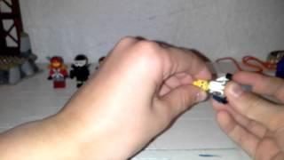 Максим мои самодельные мини фигурки лего