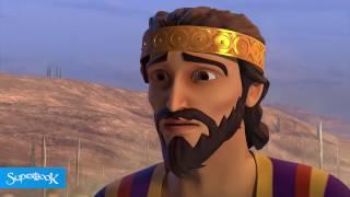 King David Blesses Solomon - Superbook