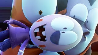 Funny Animated Cartoon | Spookiz | Race to Jelly | 스푸키즈 | Cartoon for Children