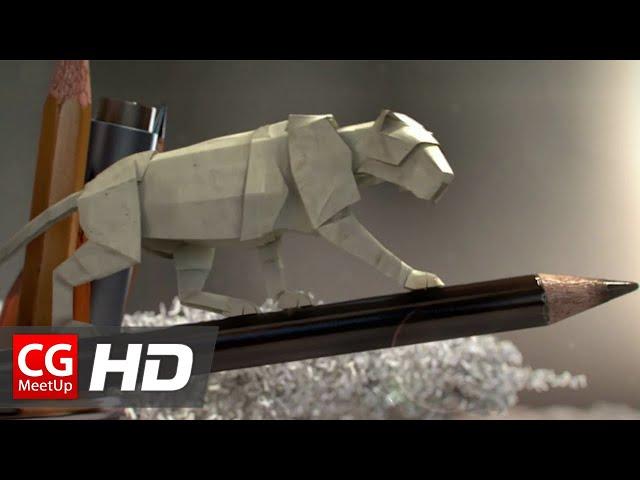 """CGI Animated Short Film HD: """"Paper World Short Film"""" by László Ruska & David Ringeisen"""
