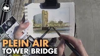 I Haven't Painted with Watercolors in 4 Months - Plein Air Adventure 59