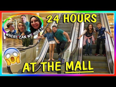 Xxx Mp4 24 HOURS AT THE MALL OVERNIGHT CHALLENGE We Are The Davises 3gp Sex