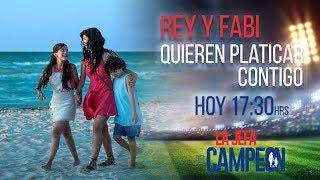¡Platica en vivo con Rey y Fabi! | La Jefa del Campeón | Televisa