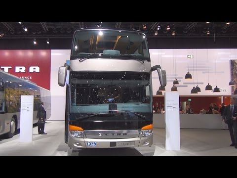 Setra TopClass S 431 DT Double-Decker Bus Exterior and Interior in 3D