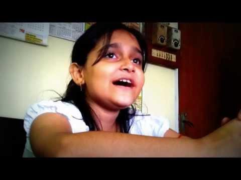 A young Assamese little singer Sumedha