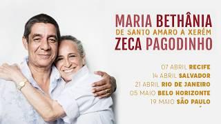"""Zeca Pagodinho e Maria Bethânia - Chamada Brasil Turnê """"De Santo Amaro a Xerém"""""""