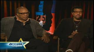 [HD] Quincy and Lionel Talk Michael Jackson 's Part - Remake WATW we are the world