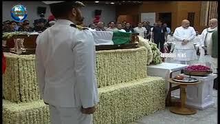 Modi, rajnath singh and Amit shah Pay Last Respects to Atal Bihari Vajpayee  | Overseas News
