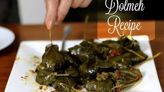 Dolmeh _دلمه _ Persian Recipe Cooking with Toorandokht