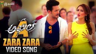 Zara Zara Full Video Song || Akhil Movie Video Songs || Akhil Akkineni, Sayyeshaa