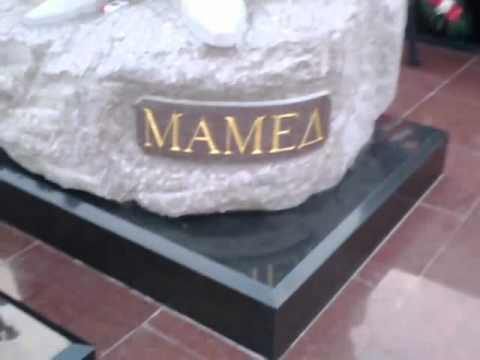 ogru mamedin heykeli
