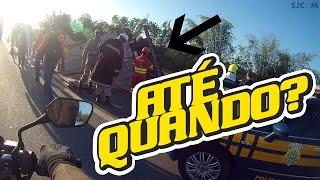 Acidente BR 101 São Mateus-ES - 26/10/2016 - Carreta tombada e carro explodiu!
