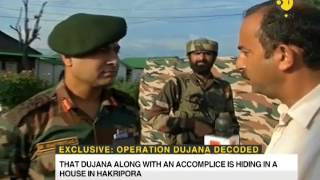 Watch : Commanding Officer tells how lashkar commander Abu Dujana was killed