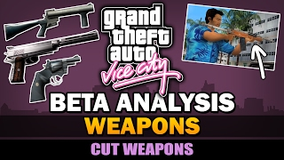 GTA Vice City - Beta Weapons [Analysis]