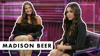 Madison Beer Chats Unreleased Songs With Justin Bieber | Interview with Jaclyn Forbes