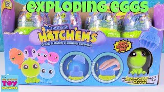 HatchEms Mashems Surprise Egg Dino Squishies Toy Review   PSToyReviews
