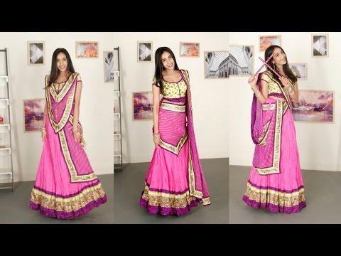 6 Gorgeous New Ways To Drape Your Lehenga Dupatta - Glamrs