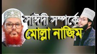 সাঈদী সাহেব সম্পর্কে মোল্লা নাজিম new bangla waz 2018 molla nazim uddin