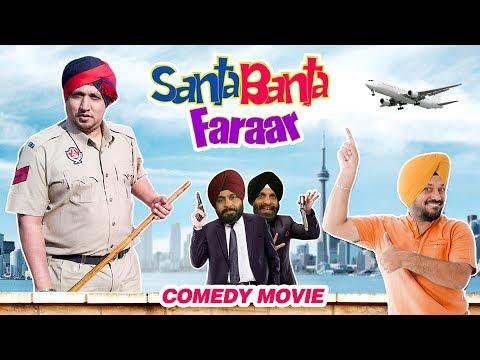 Santa Banta Faraar (Full Movie) - Gurpreet Ghuggi | New Punjabi Comedy Movie 2017 | Shemaroo Punjabi