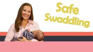 SAFE SWADDLING | Baby Care with Jenni June