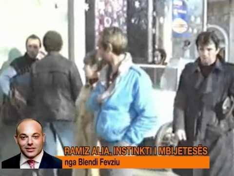 RAMIZ ALIA INSTIKT I MBIJETESES NGA BLENDI FEVZIU 8 TETOR