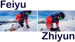 Side by Side Comparison | Feiyu Tech WG & Zhiyun Rider-M