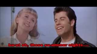 Summer Nights' by Grease Full Video With Lyrics(Best Version On Youtube)