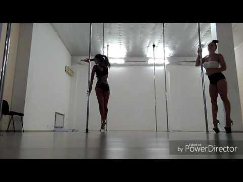 Exotic pole dance. Svetlana Yurchak, Tatiana Manskova