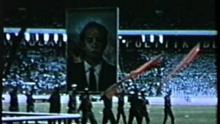 Сукарно в 1965 - President Sukarno in 1965. National and Communist celebrations