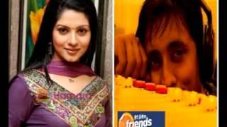Actress Payal Sarkar with Rj Animesh on 91.9 Friends Fm Kolkata