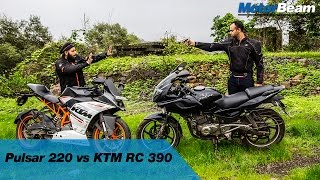 Pulsar 220 vs KTM RC 390 - Fanboys: Episode 1 | MotorBeam