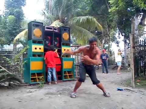 Power vj mini sounds with dancer
