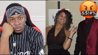 HUSBAND REACTS TO OLD PHOTOS OF WIFE & HER EX!! (PART 2)