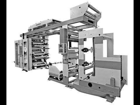 FLEXOGRAPHIC PRINTING MACHINE WITH GAZZETING ATTACHMENT BY PNRM(MADE IN INDIA)