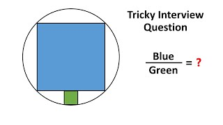 Can You Solve A Problem That Stumped A Stanford Math Major? The Ratio Of Areas Of Squares