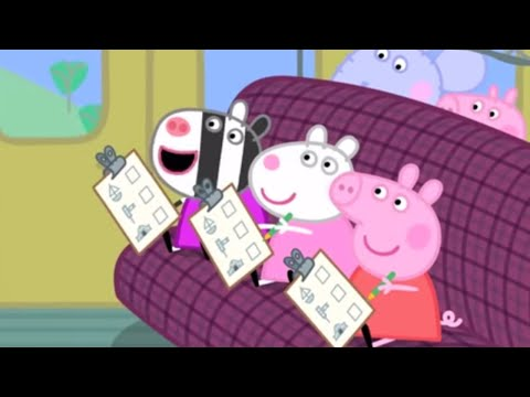 Peppa Pig en Español Episodios completos | Peppa Mejores vehículos | Dibujos Animados