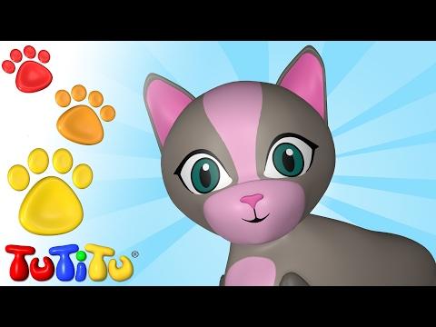 TuTiTu Animals Animal Toys for Children Cat and Friends