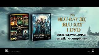 Piraci z Karaibów: Zemsta Salazara - oficjalny spot Blu-ray 3D, Blu-ray i DVD #1