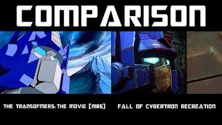 Transformers Optimus Prime VS. Megatron (G1 Remake Comparison)