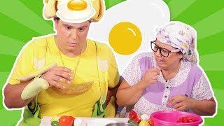 فوزي موزي وتوتي - وجبة فطور فوزي - Fozi