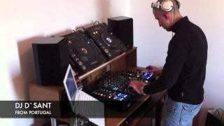 DJ D`SANT @ STUDIO - TRAKTOR SCRATCH PRO 2