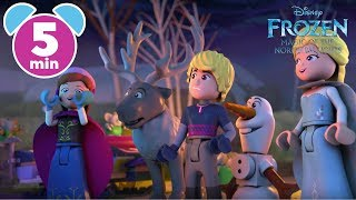 Frozen: Magic of the Northern Lights | Part 1 | Disney Junior UK