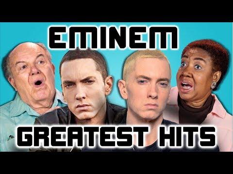 ELDERS READ EMINEM'S HIT SONGS React