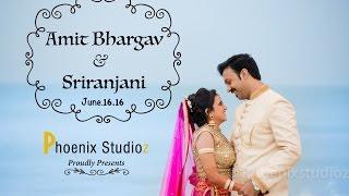 Amit Bhargav weds Sriranjani wedding