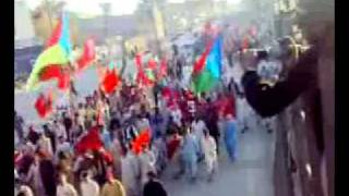 Baloch rallying for their Independence from Punjabi Pakistan
